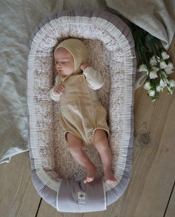BABYNEST BORN COPENHAGEN LEAVES
