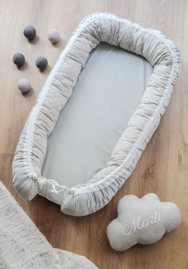 BABY NEST MIMITOS HOME GRIS