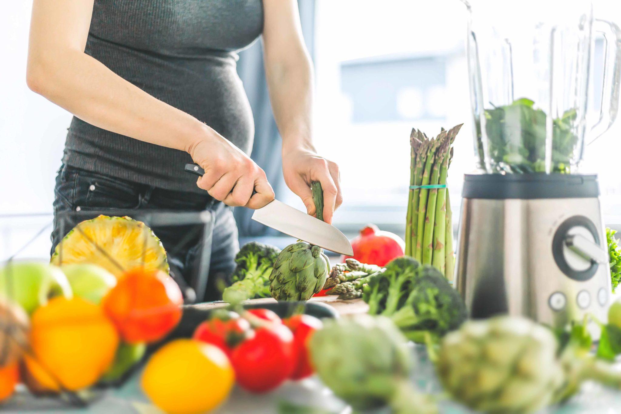 alimentación en el embarazo mujer embarazada