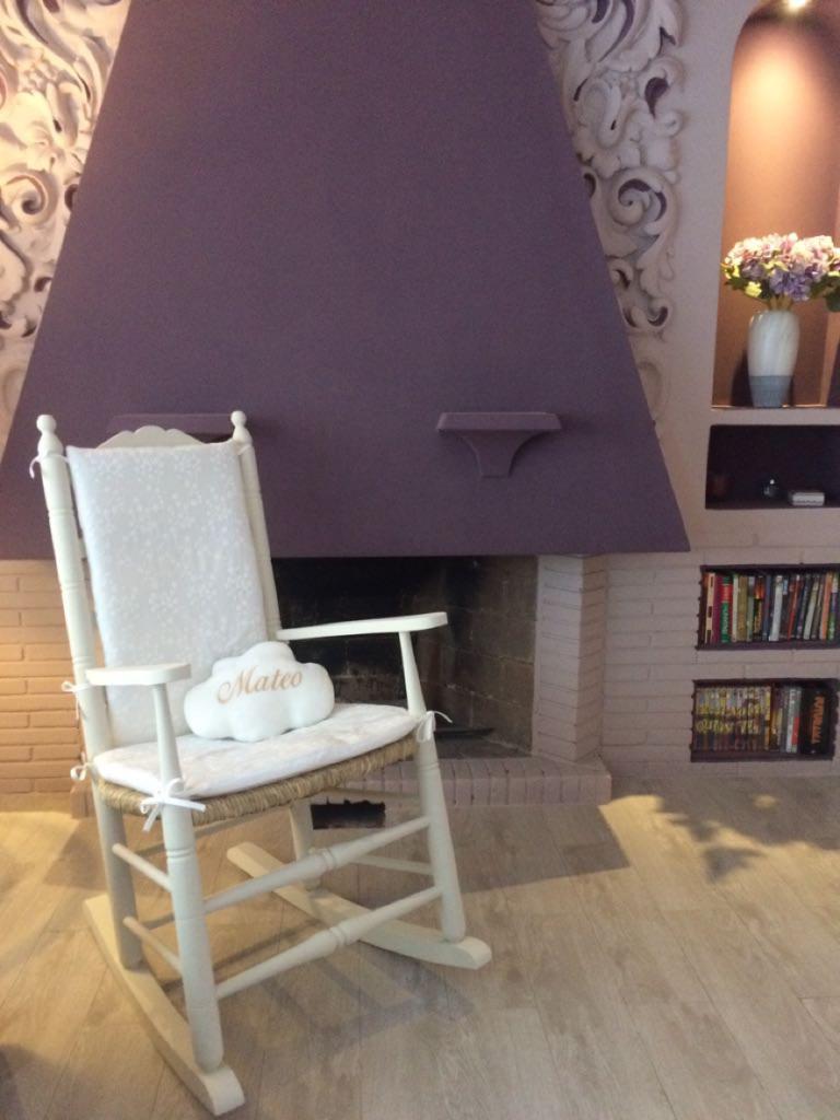 mecedora sillón de lactancia