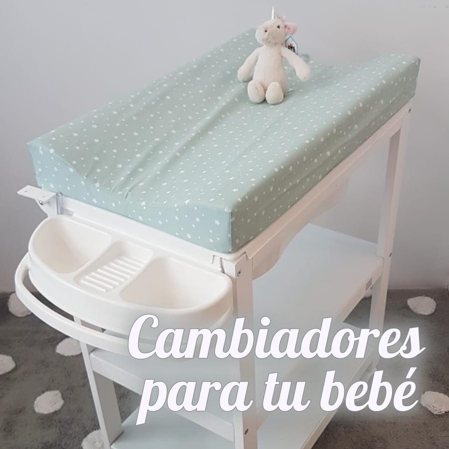 CAMBIADORES PARA EL BAÑO DE TU BEBÉ
