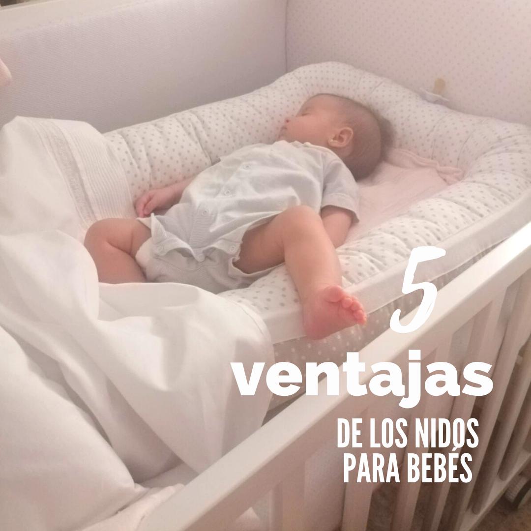 5 ventajas de los nidos o babynest