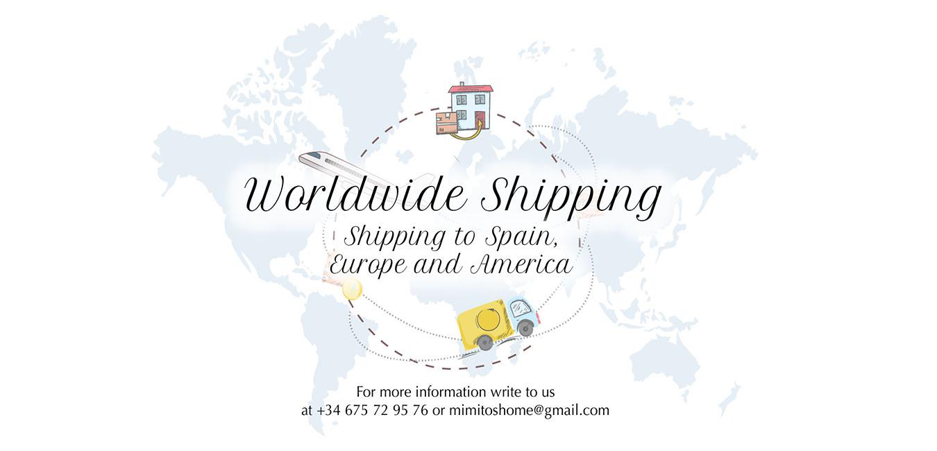 MIMITOS HOME WORLDWIDE SHIPPING ENVÍOS INTERNACIONALES
